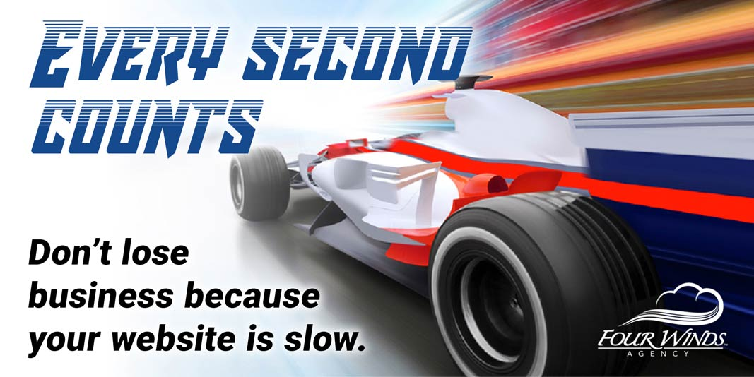 Every Second Counts in website speed
