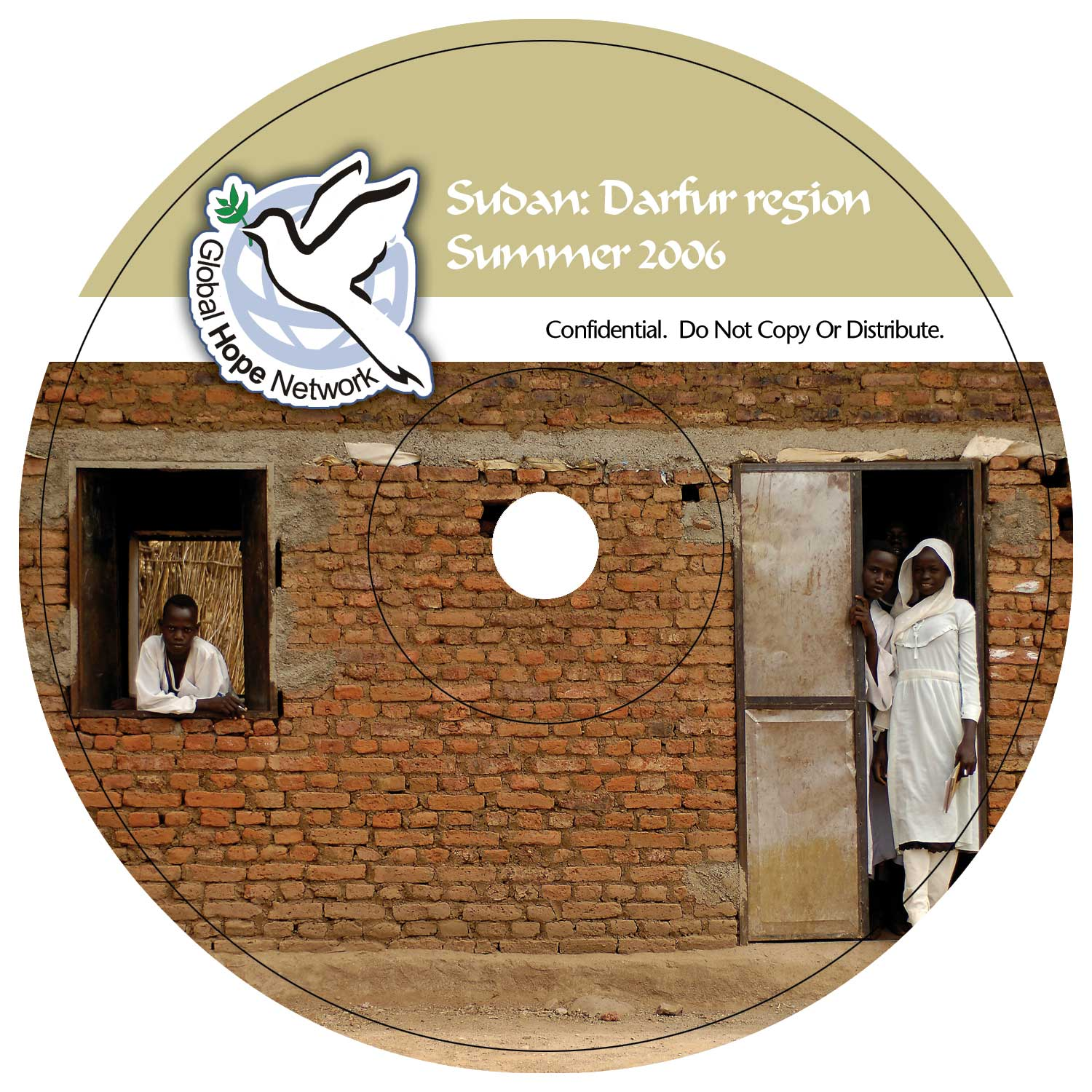 GHN CD Label Sudan
