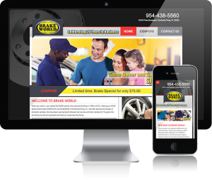 web design for Brakeworld