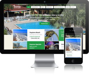 web design for Roomba Hotel