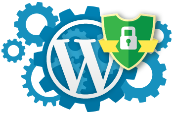 Wordpress maintenance and website security icon