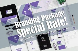 nonprofit branding package special