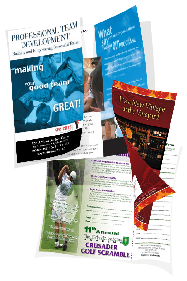 Brochures & Post Cards