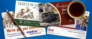 post card graphic design